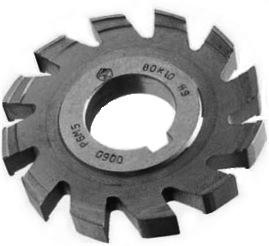 Фреза дисковая пазовая затылованная Ø 80х8 Р6М5