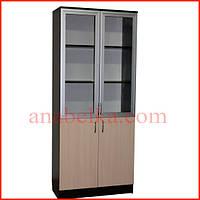 Шкаф с распашными комбинированными  дверями  ОН - 11/1
