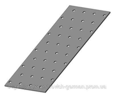 Пластина монтажная (крепежная) перфорированная 80х200х2