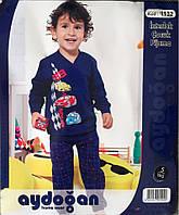 Детская турецкая хлопковая пижама для мальчика