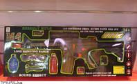 Автомат 199 с гелевыми пульками,очки аккум.лазер, муз.кор.79*9,4*31,3 ш.к./12/