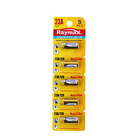 Батарейки RAYMAX 23A 12V blister card/5pcs (5шт.)