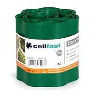 Газонный бордюр Cellfast темно зеленый 15 см * 9 м Польша