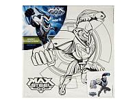 Холст с контуром 25х25 см Max Steel, MX14-217K