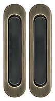 Ручка для раздвижных дверей SH010-AB-7 бронза, фото 1