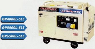 Трехфазный бензиновый генератор GLENDALE GP5500L-SLE (4,5 кВт)