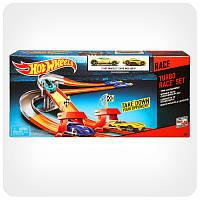 Hot Wheels игровой набор Трек Турбо-гонки Гонки Hot Wheels Mattel BGJ10 2 машинки в комплекте
