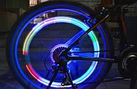 LED подсветка колеса на велосипед RGB