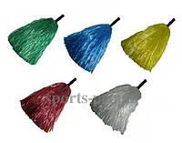 Помпоны/кульки для болельщиков/ черлидинга, 2 ед. в упаковке, разн. цвета