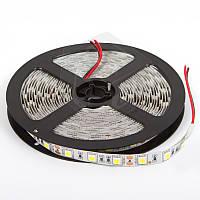 Светодиодная лента SMD5050 - сверхъяркая, холодый белый, 300 светодиодов, 12 В DC, 1 м, IP20