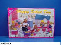 Игровой набор мебели для кукол Happy School day 9877