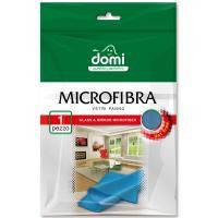 Серветки для прибирання DOMI микрофибра для стекла и зеркал 1 шт (5027 DI)