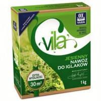 Гранулированное минеральное удобрение для хвои осеннее Yara Vila 1кг