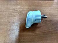 Вилка электрическая 3-полюсная боковая