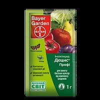 Инсектицид Децис профи 25 WG в.г. Bayer Garden 1 гр