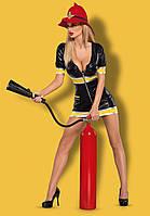 Сексуальный костюм девушки - пожарной FIREGIRL Obsessive (Обсессив)