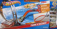 Hot Wheels игровой набор Exclusive Figure 8 Raceway with 6 Cars by Mattel