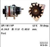 Генератор Ford Transit 2.5D 86-00 MSG CA1031IR