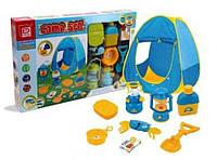 Детская палатка с набором туриста