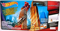 Hot Wheels игровой набор Marvel Ultimate Spider-Man Web Swing Drop-Out Play Set