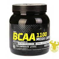 Аминокислоты BCAA Mega Caps 1100 от Olimp