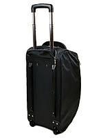 Женская дорожная сумка на колесах нейлон 22838-24in grey