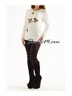 Джемпер женский, джемпер разные цвета, джемпер комбинированый, фото 1