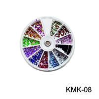 Контейнер-карусель камни разноцветные