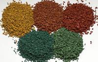 Цветная (окрашенная) резиновая крошка SBR для спортивных покрытий, фото 1