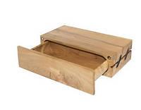 Деревянная купюрница. Шкатулка для денег ручной работы