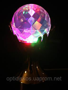 Светодиодная Диско-лампа-ночник, RHD-17 (Шар в руках), фото 2