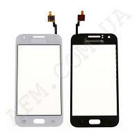 Сенсор (Touch screen) Samsung J100H/  DS/  J100/  J100F Galaxy J1 Duos белый оригинал