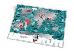 СКРЕТЧ КАРТЫ TRAVEL MAP