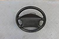 Кожаный четырехспицевый руль Audi 100 A6 C4 91-97г