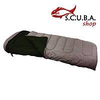 Зимний спальный мешок (спальник) VERUS Polar -15°C - 20°C, водонепроницаемый на флисе, цвет коричневый