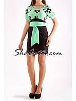 Платье офисное женское