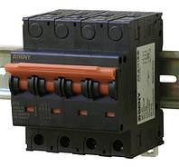 Выключатель автоматический BB1-63 4P 10 1200V DC (10А / 1200В постоянного тока, 2-х полюсный, неполярный)