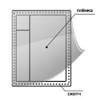 Теплосберегающая пленка Третье стекло (1,1 х 6м + 20м скотча)