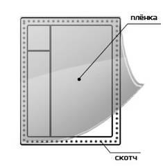Теплосберегающая пленка Третье стекло (1,1 х 6м + 20м скотча), фото 2