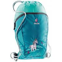Рюкзак-мешок для сменной обуви  Sneaker Bag  DEUTER, 3890115 3037 бирюзовый