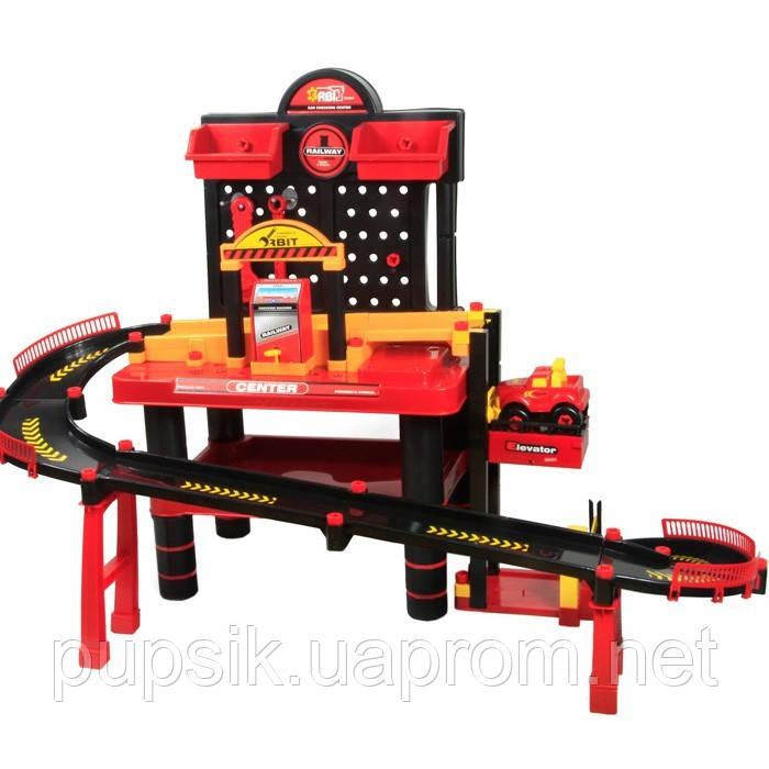 Игровой набор «Паркинг с Техцентром» Xiong Cheng  76008