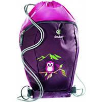 Фиолетовый рюкзак-мешок для сменной обуви  Sneaker Bag  DEUTER, 3890115 5509