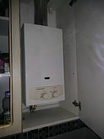Установленная газовая колонка Ariston в квартире. г.Полтава