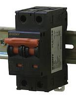 Выключатель автоматический BB1-63 2P 10 600V DC (10А / 600В постоянного тока, 2-х полюсный, неполярный)