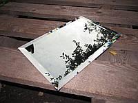 Дзеркальна плитка зелена, бронза, графіт 300*300 фацет 15мм, фото 1