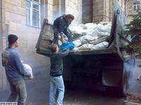 Вывоз мусора самосвал КамАЗ по Харькову.