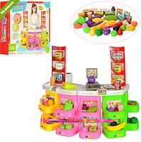 Игровой набор детский Магазин-супермаркет музыкальный 666-132