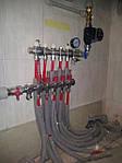 дом 240 м2 в г.Полтава Процесс установки коллекторной группы Kermi для теплого пола 1-го этажа.
