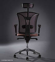 Кресло для персонала PILOT R HR net c «Синхромеханизмом», фото 1
