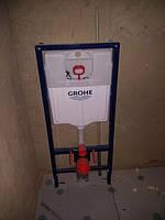 дом 240 м2 в г.Полтава Процесс монатажа инсталяции Grohe в двух санузлах.